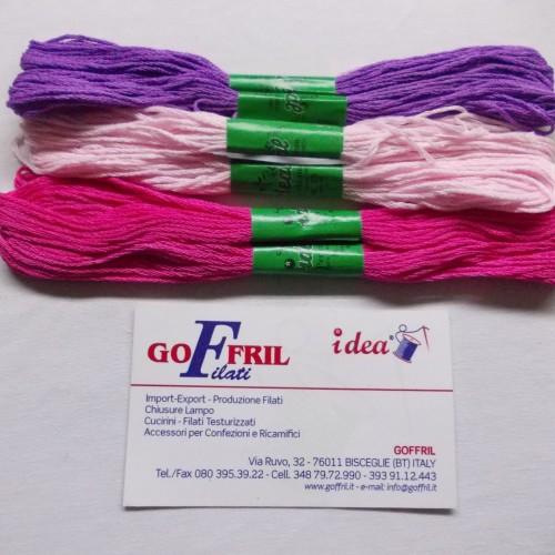 ricamatori skein colorati