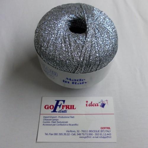 filo lurex argento